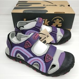 Kamik Seaturtle Youth Trail/water Shoes Size 5